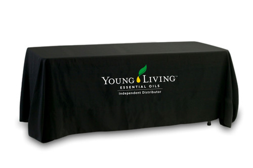 Young Living Tablecloth - Multi-Color Logo