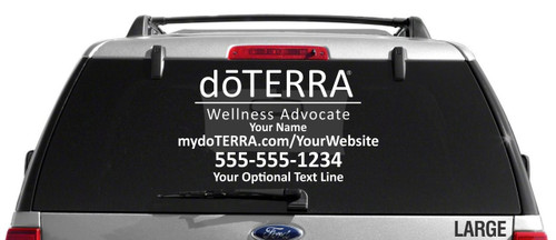 doTERRA Decal - Single Color
