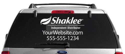 Shaklee Decal