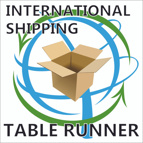 International Table Runner Orders Additional Shipping Fee