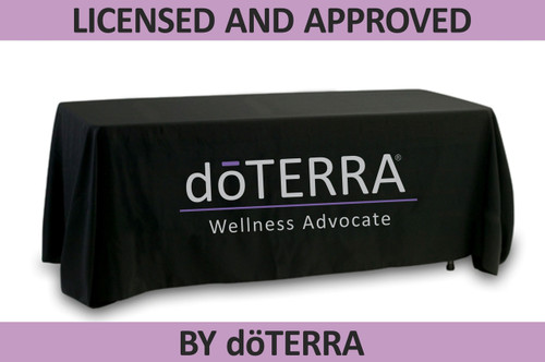 doTERRA Tablecloth -  Large Dual Color Logo - Approved Licensed Product!
