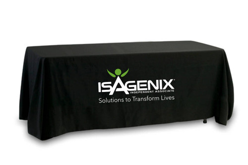 Isagenix Tablecloth - Dual Color - Former Logo