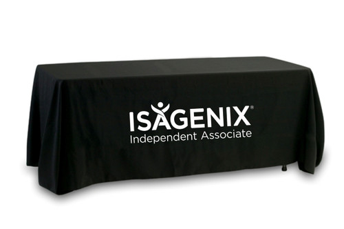 Isagenix Tablecloth - Single Color - Current Logo