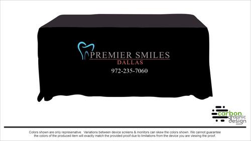 Custom Tablecloth - Premier Smiles