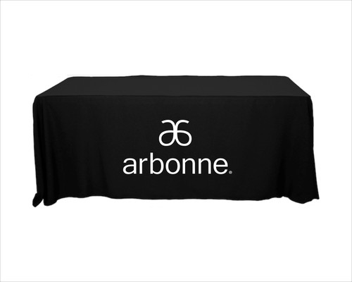 Arbonne Tablecloth - Single Color Logo - New Logo