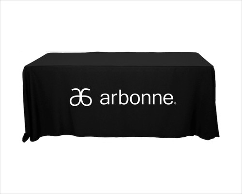 Arbonne Tablecloth - New Horizontal Logo
