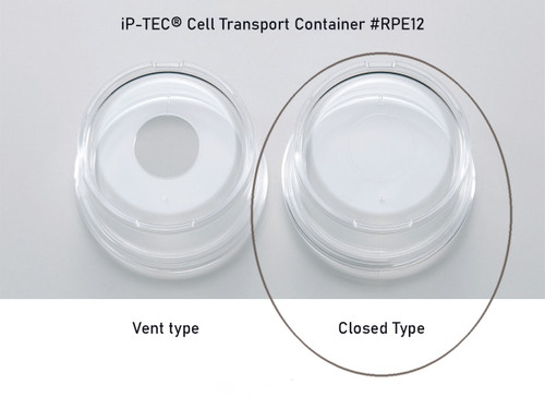 iP-TEC® Cell Transport Container #RPE12 closed type