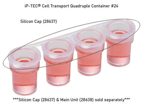 iP-TEC® Cell Transport Quadruple Container #24