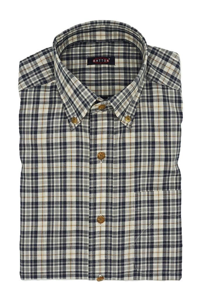 Batton Big & Tall Caleb Twill Shirt