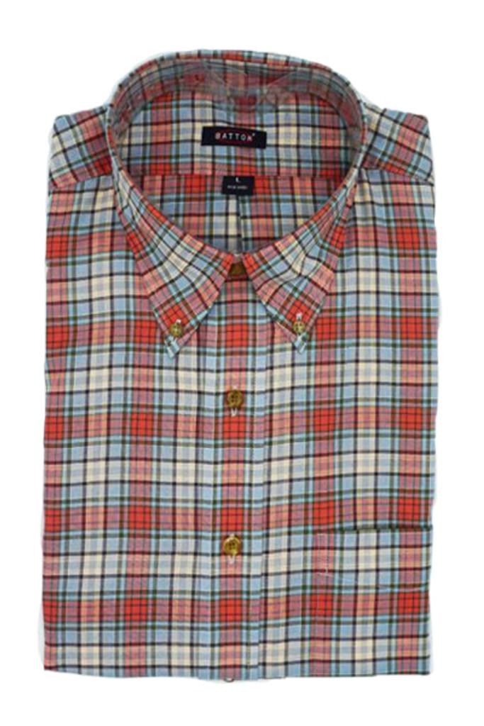 Batton Big & Tall David Twill Shirt