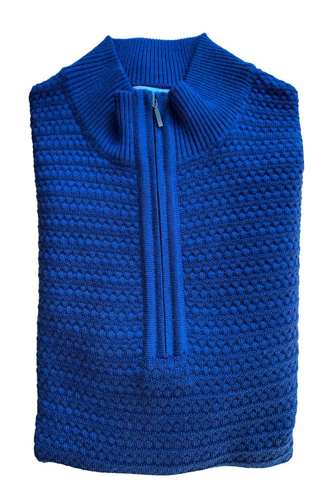 St. Croix Tall Bubble Stitch 1/4 Zip Sweater