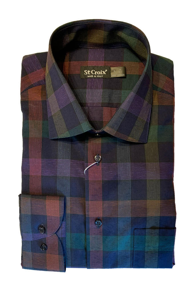 St. Croix Exploded Check Shirt