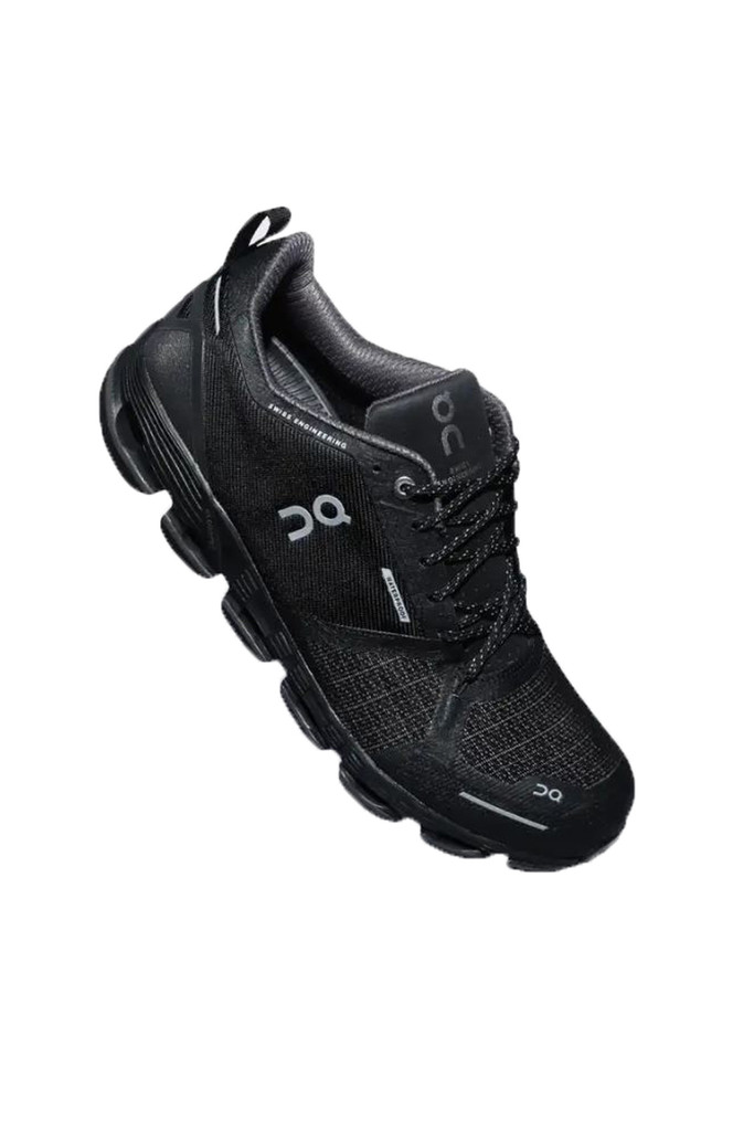 On Running Cloudflyer Black/Lunar Waterproof Runner