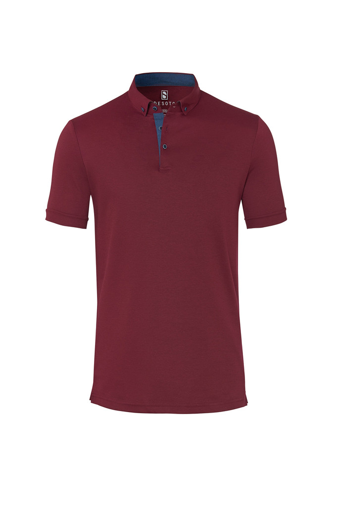 Desoto Solid Red Polo