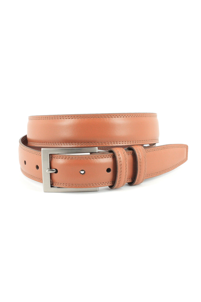Torino Leather Co. Aniline Tan Leather Belt