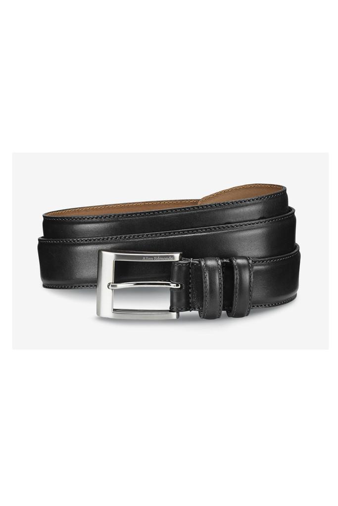 Allen Edmonds Big Black Basic Wide Belt