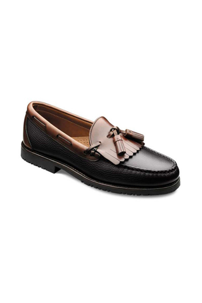 Allen Edmonds Nashua Black/Brown Tassel Loafer