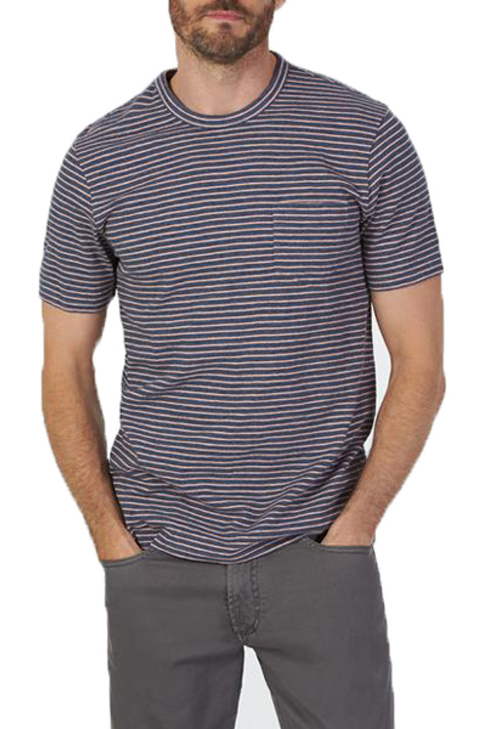 Faherty Bleecker Pocket T-Shirt