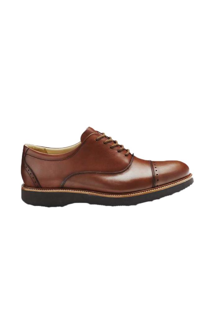 Samuel Hubbard Market Cap Whiskey Shoe