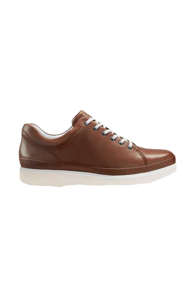 Samuel Hubbard Fast Burnished Tan Shoe