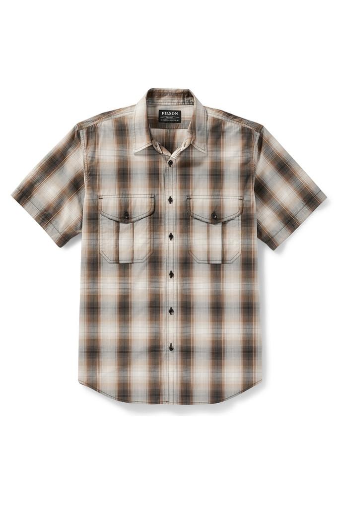 Filson Feather Cloth Short Sleeve Shirt