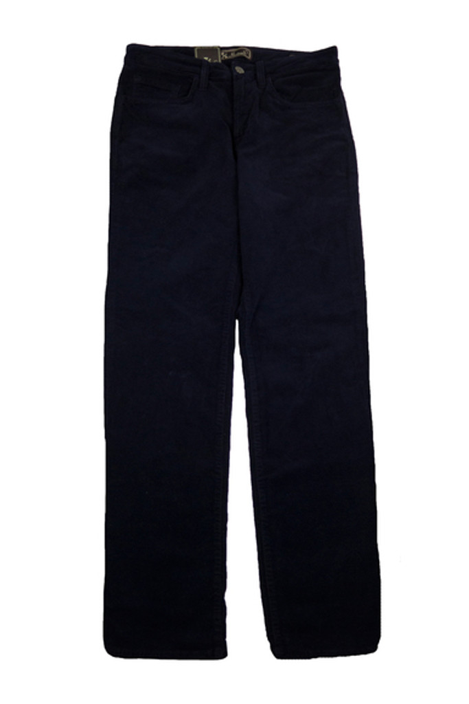 34 Heritage Charisma Navy Corduroy Pant