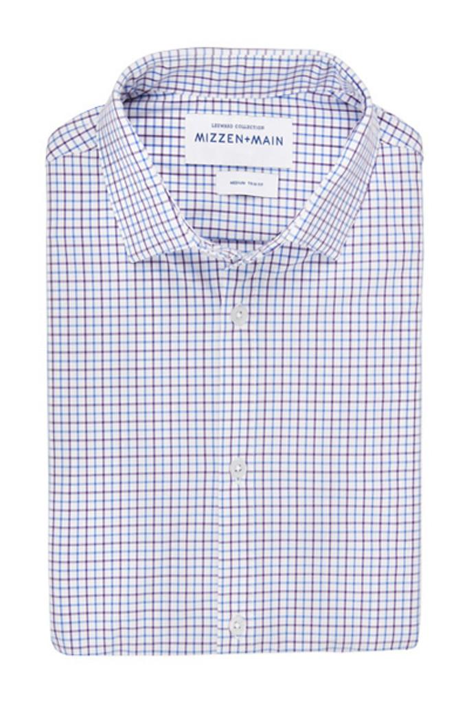 Mizzen + Main Olson Trim Shirt