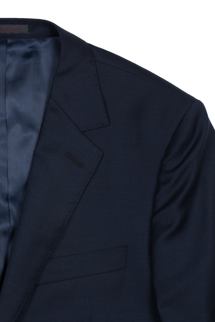 Byron Navy Solid Classic Fit Suit