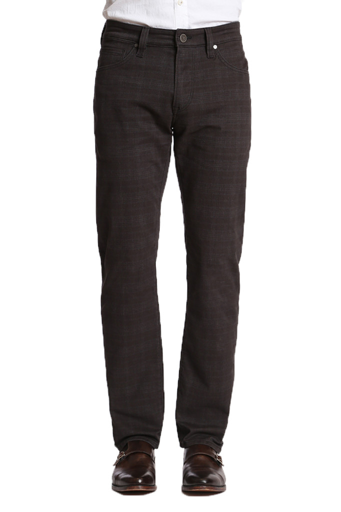 34 Heritage Courage Charcoal Plaid Pant