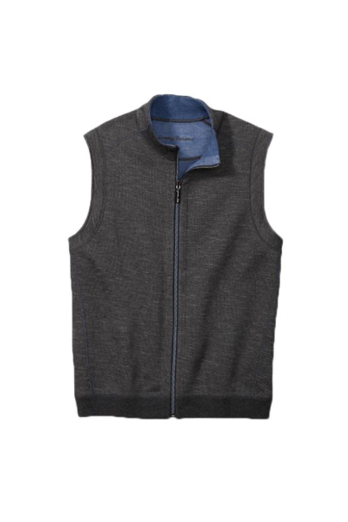 Tommy Bahama Big & Tall New Flipsider Full Zip Vest