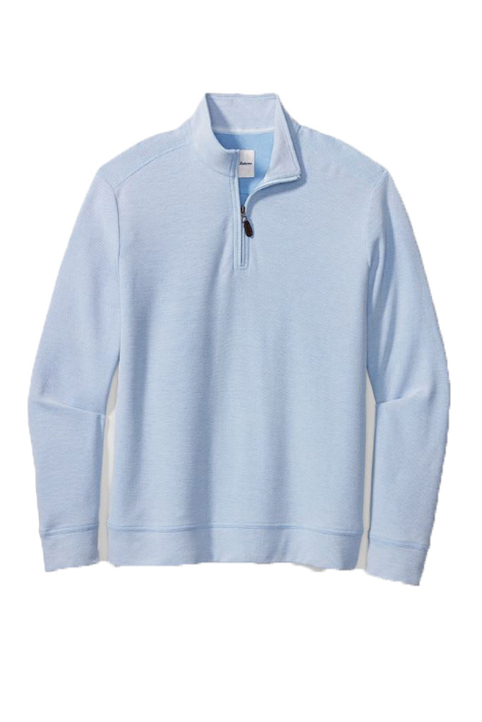 Tommy Bahama Big & Tall Coral Seas Half Zip