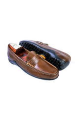 Martin Dingman Bill Water Buffalo Burnt Cedar Penny Loafer