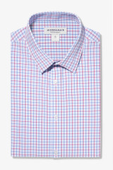 Mizzen+Main Red Blue Check Shirt