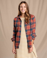Toad&Co Women's Re-Form Flannel Shirt