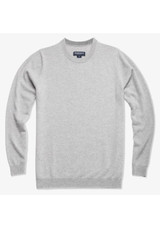 Mizzen+Main Arden Lt Grey Cashmere Sweater