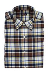 Batton Big & Tall Fischer Herringbone Shirt