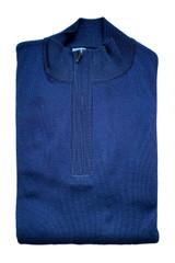 St. Croix Rib Knit 1/4 Zip Sweater