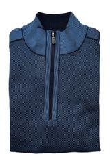 St. Croix Textured 1/4 Zip Sweater