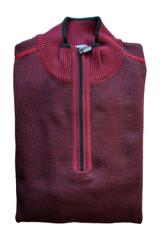 St. Croix Texture Solid 1/4 Zip Sweater