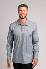 TravisMathew All 58 Parks Long Sleeve Polo