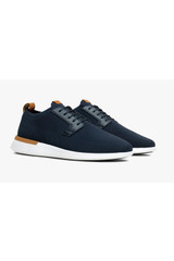 Wolf & Shepherd SwiftKnit Derby Navy Shoe