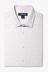 Mizzen+Main Pink Check With Print Leeward Shirt