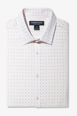Mizzen+Main Tall Pink Check With Print Leeward Shirt