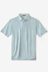 Tasc Men's Cloud Golf Link Print Polo