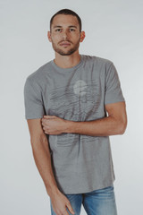 The Normal Brand Men's Lines T-Shirt