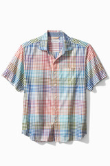 Tommy Bahama Grand View Gingham SS Shirt