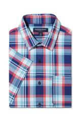 Mizzen+Main Plaid SS Shirt