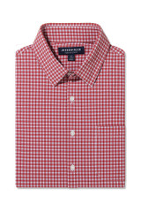 Mizzen+Main Red Gingham Shirt