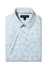 Mizzen+Main Skyway Tropical Print SS Shirt