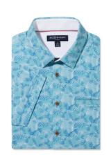 Mizzen+Main Palm Print SS Shirt